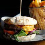 Huisgemaakte hamburger: