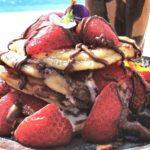 Pancakes Aardbeien